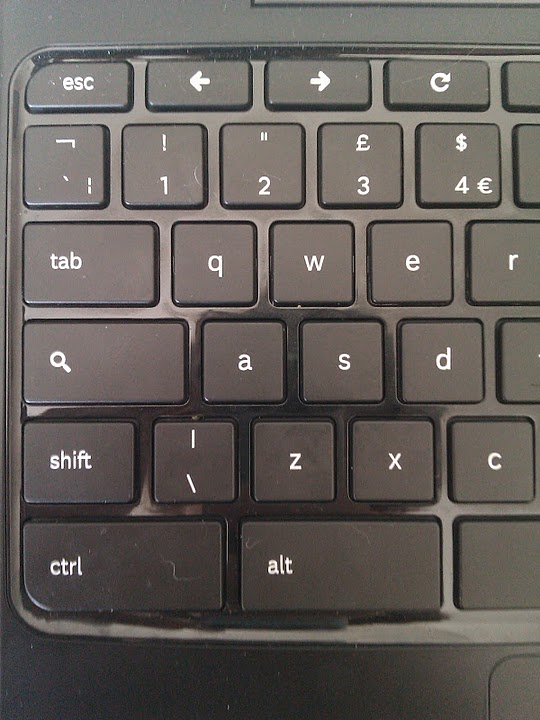 hvor sidder shift knappen på tastaturet