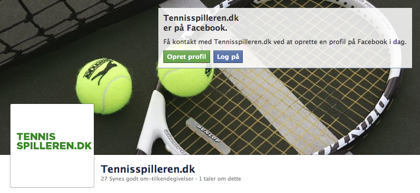 tennisspilleren facebook