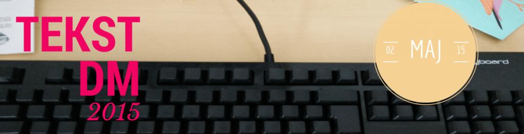 Mit keyboard i baggrunden her.